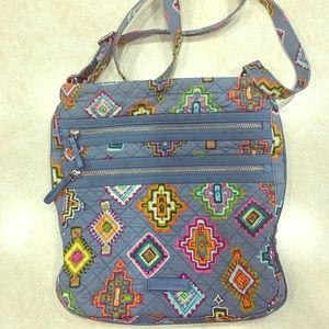 Vera Bradley Large crossbody purse